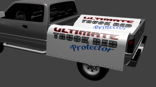 The Truck Bed Protector Side Panel Display